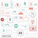 Wish Season Countdown Labels - Fancy Pants