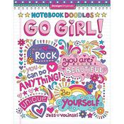 Notebook Doodles Go Girl - Design Originals