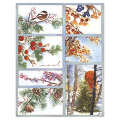 Woodland Splendor - Penny Black Sticker Sheet