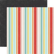 Kitty Stripe Paper - Meow - Echo Park