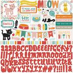 Meow Element Sticker Sheet - Echo Park