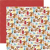 Puppy Icons Paper - Bark - Echo Park