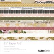 Treasured Moments 6.5 x 6.5 Paper Pad - KaiserCraft