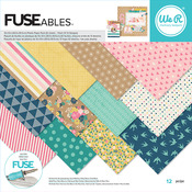 FUSEable 12 x 12 Paper Pad - We R Memory Keepers