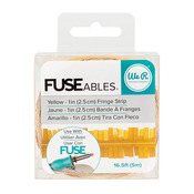 Yellow Fringe Strip FUSEable Fringe Tape - We R Memory Keepers