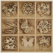 Butterfly Wooden Shapes - Lucky Dip - KaiserCraft