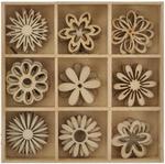 Flower Wooden Shapes - Lucky Dip - KaiserCraft