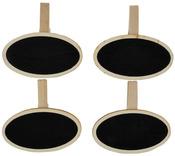 Oval Lucky Dip Chalkboard Clips - KaiserCraft