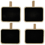 Rectangle Lucky Dip Chalkboard Clips - KaiserCraft