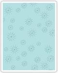 Sparkles Sizzix Texture Fades A2 Embossing Folder - Tim Holtz Alterations