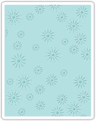 Sparkles Sizzix Texture Fades A2 Embossing Folder - Tim Holtz Alterations