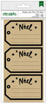 Noel Tags Holiday Remarks Kraft Labels  - American Crafts