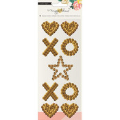 Gold Shapes Sequin Embellishments - Maggie Holmes