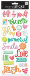 Best Friends Puffy Essential Stickers - MambiSticks