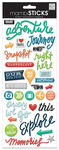 Our Adventure Puffy Essential Stickers - MambiSticks