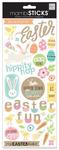 Easter Fun Glitter Stickers - MambiSticks