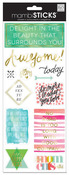 Delight In The Beauty Foil Stickers - MambiSticks