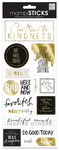 But First Coffee Foil Stickers - MambiSticks
