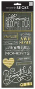 We Laugh Chalk Cardstock Stickers - MambiSticks