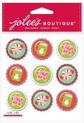 Sweet Treats Baubles Epoxy Embellishments - Jolees Christmas