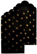 Black Gift Envelopes Gold Foil Accents - Lucky Dip - KaiserCraft