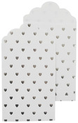 White Gift Envelopes Silver Foil Accents - Lucky Dip - KaiserCraft