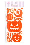 Pumpkin Play Epoxy Stickers - Queen & Co