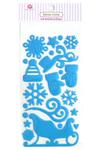 Winter Wonderland Epoxy Stickers - Queen & Co