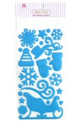 Winter Wonderland Epoxy Stickers - Queen & Co