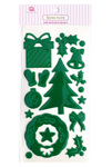 Holiday Green Epoxy Stickers - Queen & Co