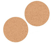 Circle Cork Lucky Dip Stickers - KaiserCraft