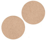 Kraft Circles Lucky Dip Stickers - KaiserCraft