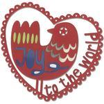 Joy To The World - Sizzix Thinlits Die
