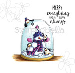 """Merry Everything - Stamping Bella Cling Stamp 6.5""""X4.5"""""""