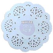 Round White Paper Doilies - Prima