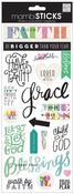Let Your Faith Glitter Stickers - MambiSticks