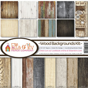 Wood Backgrounds Paper Pack - Ella & Viv