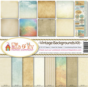 Vintage Backgrounds Paper Pack - Ella & Viv