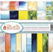 Watercolor Dreams Paper Pack - Ella & Viv