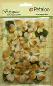 Antique Gold Velvet Dogwood Assortment - Petaloo