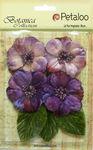Purple Vintage Velvet Peonies - Petaloo