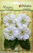 White Vintage Velvet Peonies - Petaloo