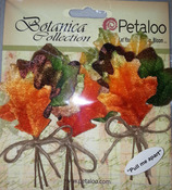 Velvet Maple Leaves Pick - Petaloo