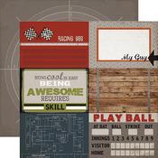 Journaling Cards 4 x 6 Paper - Work Hard Play Hard - Carta Bella