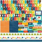 Little Man Alpha Stickers - Echo Park
