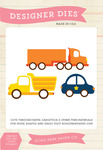 Vehicles Die Set - Little Man - Echo Park