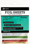 Holiday Shiny Transfer Foil Sheets - Ranger