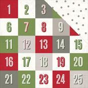 Countdown Paper - Yuletide - Pink Paislee
