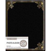 Black - K&Company 2 Up Basic Photo Album