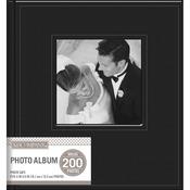 Black - K&Company 2 Up Faux Leather Memo Photo Album